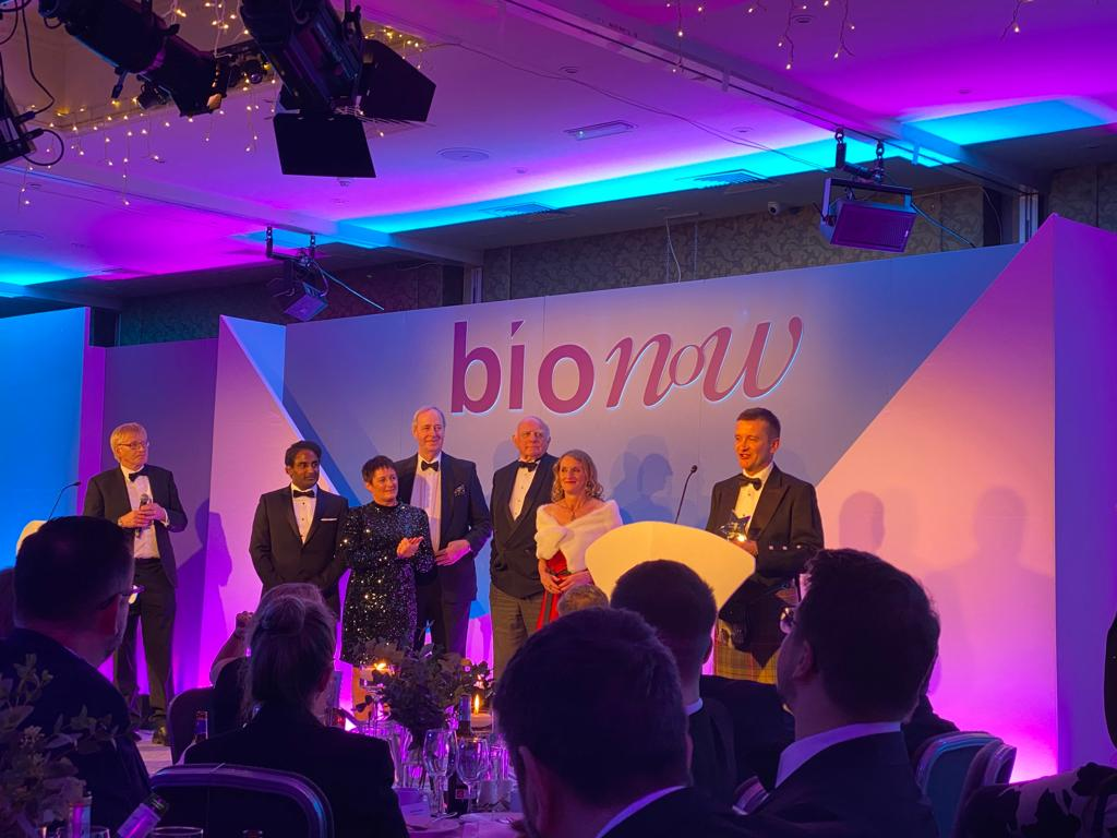 The Newcastle upon Tyne Hospitals NHS Foundation Trust win the Bionow Healthcare Project of the Year
